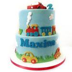 Autootjes taart Maxim, taart Den Bosch
