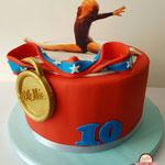 Turnwonder taart, Mollie, Taart Den Bosch