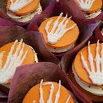 Halloween CupCake,Skelet CupCake, Cupcakes Den Bosch
