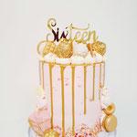 Sweet Sixteen, Taart Den Bosch.
