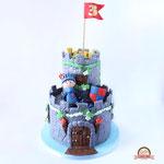 Luuk, kasteel taart, taart Den Bosch