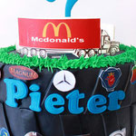 Pieter, taart Den Bosch