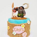 Vaiana taart, Zaira 3 jaar, Taart Den Bosch