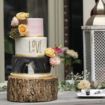 Marmer Love WeddingCake, Richard en Manola, WeddingCake Den Bosch, Bruidstaart Den Bosch foto: Marcella Tenlima Fotografie