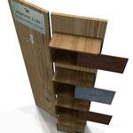 Progetto ALPINE LIFE  Espositore in legno