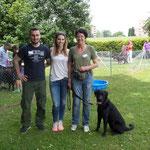 Iarou mit Charlotte, Laura und Tobi