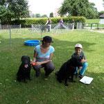 Ika und Mama Fame mit Corinne und Cyrill