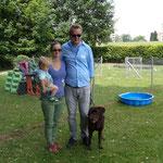Ivy mit Marie- Claude, Werner und Line
