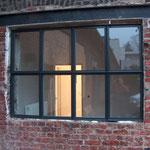 Stahlfenster für die alte Schmiede der ehem. Maschinenfabrik Wolf