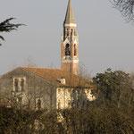 Villa Pavin e il campanile (particolare)