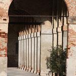 Villa Godi Piovene - la barchessa (particolare)