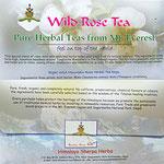 Sherpa Herbs, Wild Rose Tea, 6 euro, Kräutertee vom Fuße des Mount Everest, in 4000 meter Höhe gewachsen