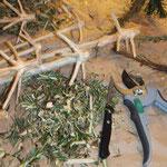 Quirl aus Baumspitze, selbermachen, Holzquirl