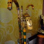 aus alt mach neu, Wanderstock 38 euro, Gehstock aus Haselnussholz, Kunsthandwerk im Gudwork
