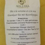 Marokkanische Vervene mit Rosenknospen von Sultana, 4 euro