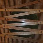 Zollstock 29 euro, mit Beschreibung der Holz Art