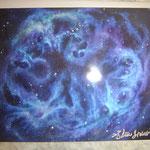 Kunstpostkarten Universum