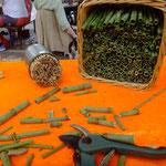 offene Werkstatt Gudwork, Rohmaterial für Insekten Hotels, Japanischer Knöterich, Kräuterworkshop