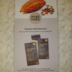 Chuncho Gold, Urkakao, Vegane Schokolade ohne Palmöl, Peru Puro,