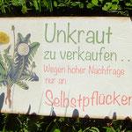 offene Werkstatt Gudwork, Samstag Kräuterworkshop