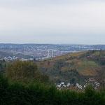 Aussicht in Richtung Stuttgart