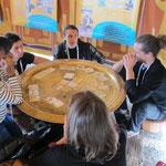 Une partie de découverte au forum mondial de l'eau à Marseille