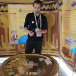 Le premier animateur du jeu Sauvons l'Oasis