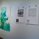 Blau-Grünes Bild mittel 2 im Kontext von Marcels Arbeiten