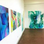 Blau-Grünes Bild 2 im Kontext der Werke von Judith Valeria und Marvin Hoffmann