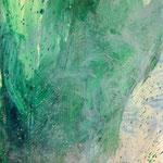 Detail IV Blau-Grünes Bild 2