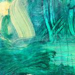 Detail I Blau-Grünes Bild 2