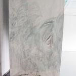 Ouvertüre 1,  Acryl auf Papier, ca. 2,10 x 3,00 m