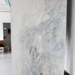 Ouvertüre 2,  Acryl auf Papier, ca. 2,10 x 3,00 m