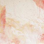 Hautfarbenes Bild, 2015, Acryl auf Papier, ca. 0,80 x 2,70 m
