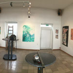Ausstellungspanorama nach dem Aufbau