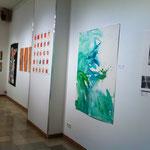 Blau-Grünes Bild mittel 1 im Kontext von Judiths und Marvins Werken