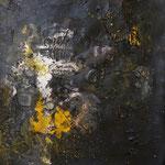 Farbe, 2012, Acryl auf Papier, in der RESULTATE-Ausstellung 2013
