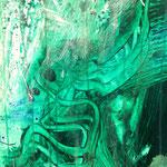 Detail II Blau-Grünes Bild 2