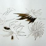 Siebdruck Gold / Schwarz 3