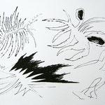 Siebdruck Schwarz / Weiss