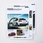 BMW emotion Kundenmagazin