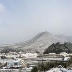 【龍頭山】朝方降り積もった様子できれいな雪景色に❤