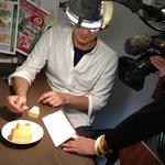 シフォンケーキの撮影