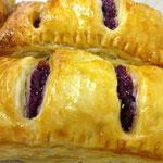 """2:色鮮やかな豊平産""""紫いもパイ"""""""