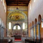 Poreč, le choeur de la basilique Euphrasienne