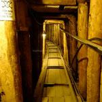 Ilidza: tunnel de l'espoir: 1,60 m x 1 m