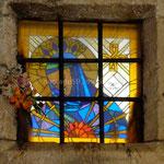 Split: vitrail au détour d'une ruelle