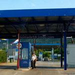 Enfin le poste-frontière croate où il n'y a pas de queue!