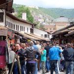 Sarajevo: dans les ruelles du souk