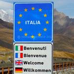 Entrée en Italie